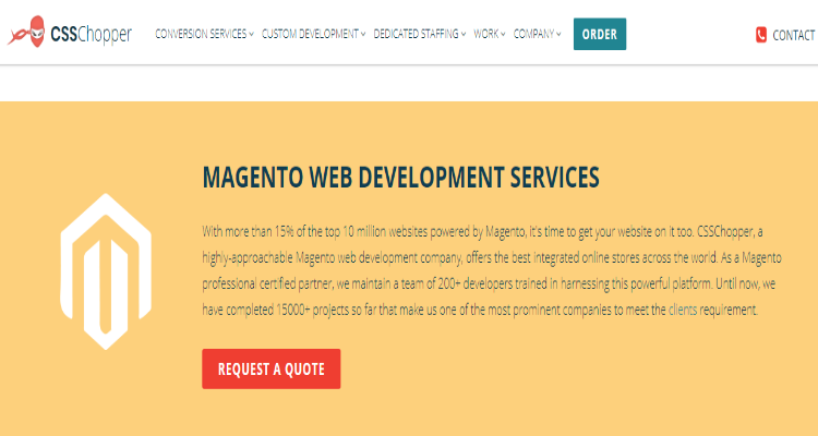 Top 10 List of PSD to Magento Service Providers | WebNextReview